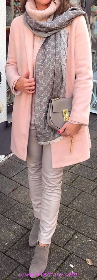 Elegant And Lovely Outfit Idea - fashionable, street, adorable, cute