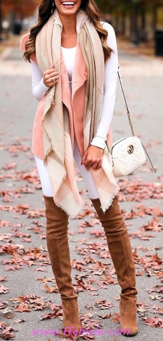 Elegant And Pretty Autumn Look - getthelook, clothes, ideas, outfits