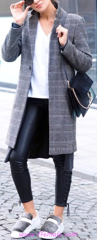 Elegant And So Top Fall Look - clothes, modern, wearing