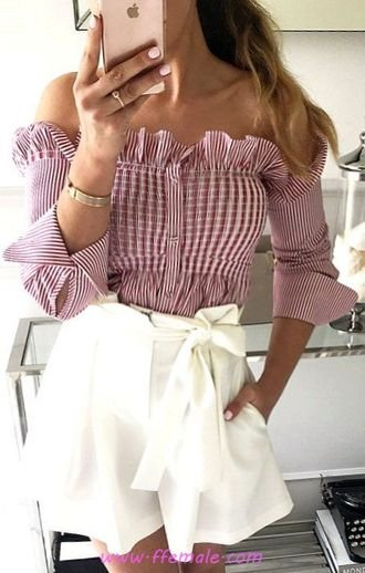 Elegant and lovely outfit idea - fashion, offshoulder