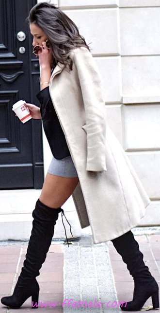 Fashionable And Lovely Fall Look - sweet, charming, graceful, style