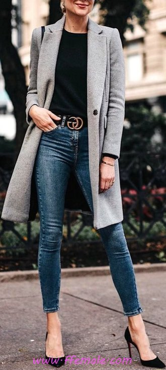 Fashionable And Trendy Autumn Look - model, modern, photoshoot, attractive