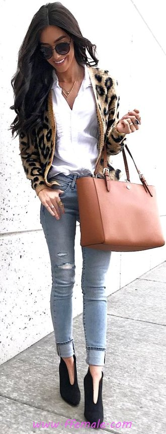 Fashionable & Perfect Fall Outfit Idea - street, cute, clothes
