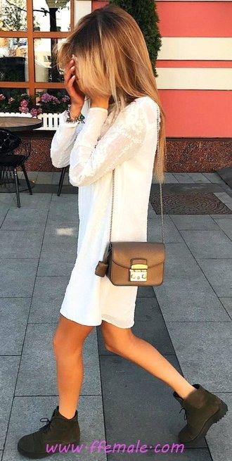 Fashionable and trendy outfit idea - sweet, modern, cool, trendy