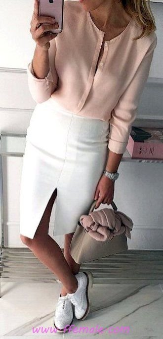 Finest - elegant and pretty inspiration idea - pink, white, handbag, accessories