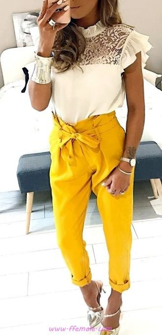 Finest - fashionable and top inspiration idea - fashion, yellow