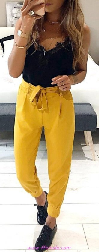 Finest - glamour and hot outfit idea - yellow