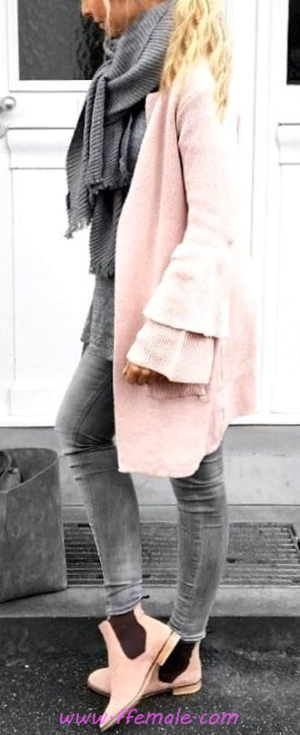 Furnished And Simple Fall Outfit Idea - getthelook, cool, street, elegant