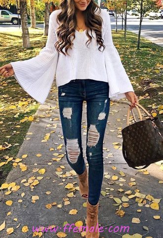 Furnished And Simple Outfit Idea - attractive, popular, cute, styleaddict