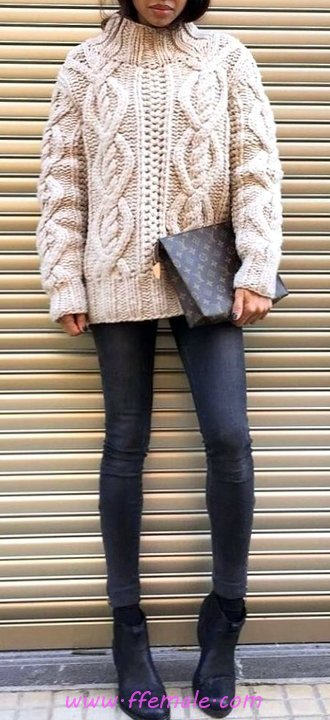 Glamour And Relaxed Fall Look - sweet, clothing, flashy