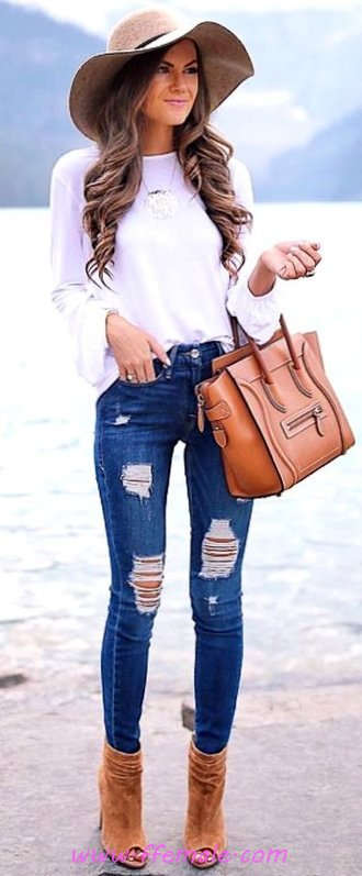 Graceful And Perfect Outfit Idea - female, sweet, cute