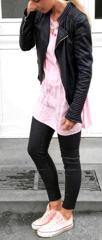 Graceful And Pretty - modern, outfits, leather, clothing, adorable