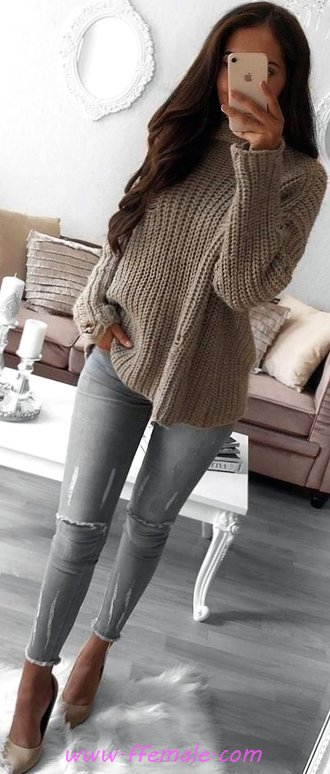 Graceful And Relaxed Outfit Idea - wearing, getthelook, clothing