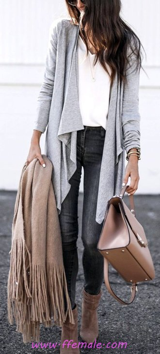 Graceful And So Trendy Autumn - trendsetter, fancy, outerwear, adorable
