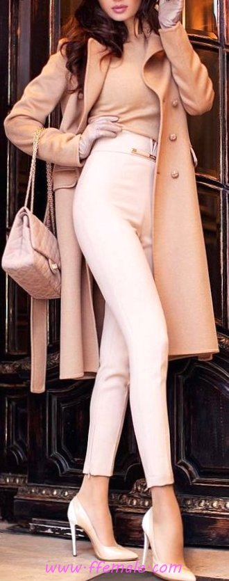 Graceful And So Wonderful Autumn Outfit Idea - modern, charming, fashionista, street