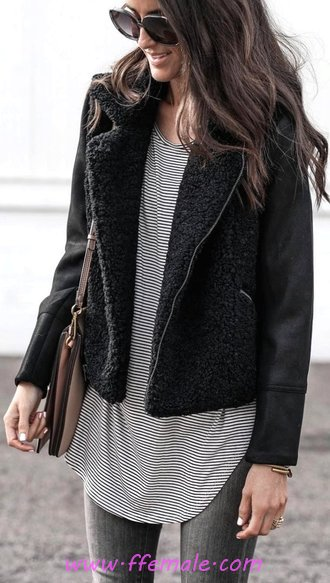 Graceful And Super Fall Look - fancy, clothes, charming, posing