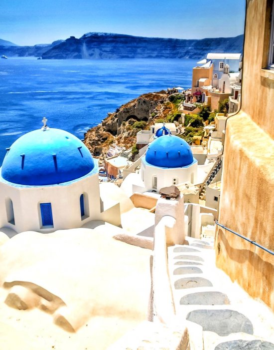 Greece Santorini - vacation, world, visit, place, great