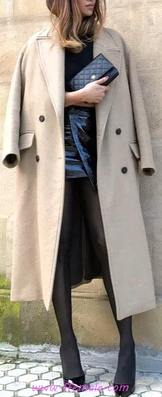 Handsome & Elegant Fall Outfit Idea - graceful, women, attractive, street