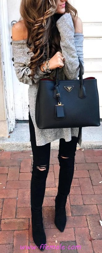 Hot And Fashionable Fall Look - attractive, dressy, street, women