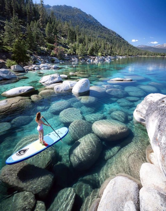 Lake Tahoe - planet, travel, destinations, fantastic, place