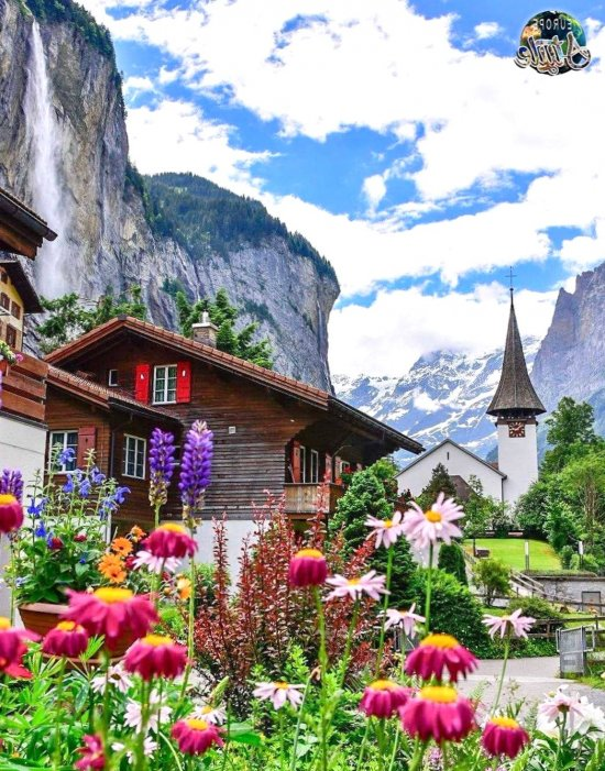 Lauterbrunnen Switzerland - romantic, place, planet, destinations, vacation, europe