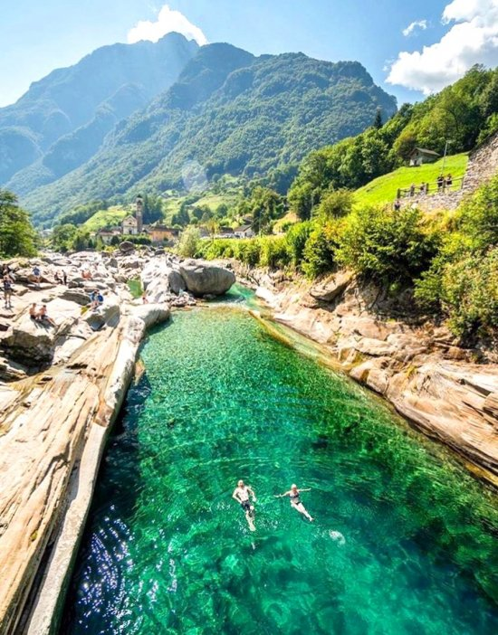 Lavertezzo Switzerland - travel, topplaces, great, holiday