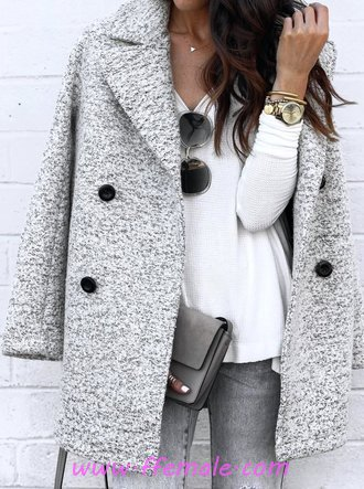 Lovely And So Glamour Autumn Outfit Idea - modern, outfits, style, charming