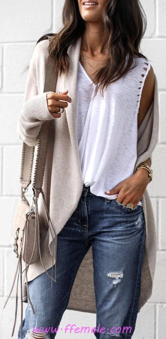 Lovely And So Glamour Fall Look - modern, charming, popular, elegant