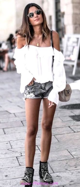 My awesome and lovely inspiration idea - fashion, offshoulder