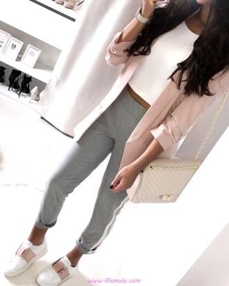 My awesome and lovely look - fashion, sneakers, blazer