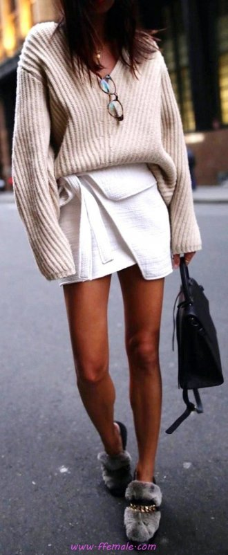 My furnished and lovely look - fashion, sweater, wrap