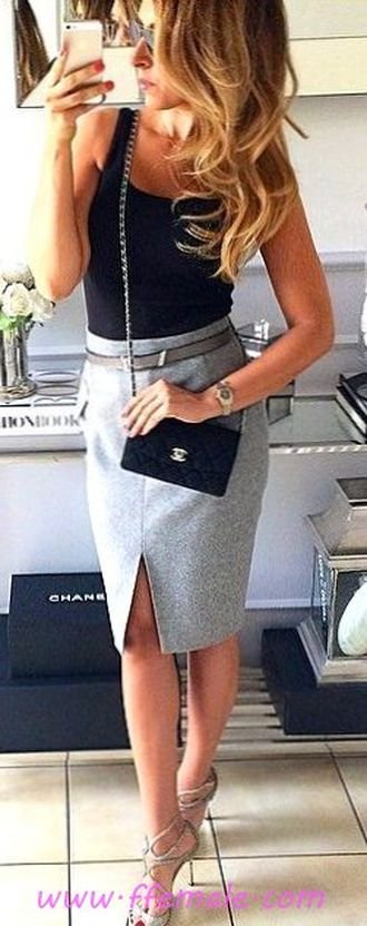 My furnished and super outfit idea - ideas , black, gray