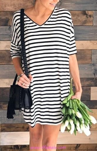 My hot outfit idea - ideas , striped
