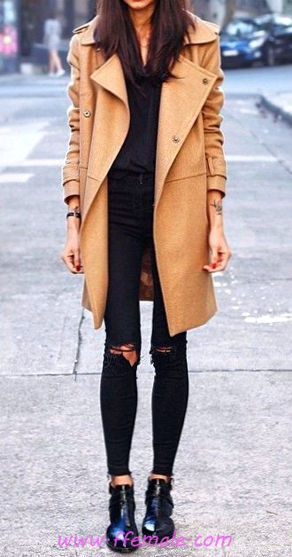 Perfect And Classic Fall Inspiration Idea - trendy, getthelook, thecollection, charming