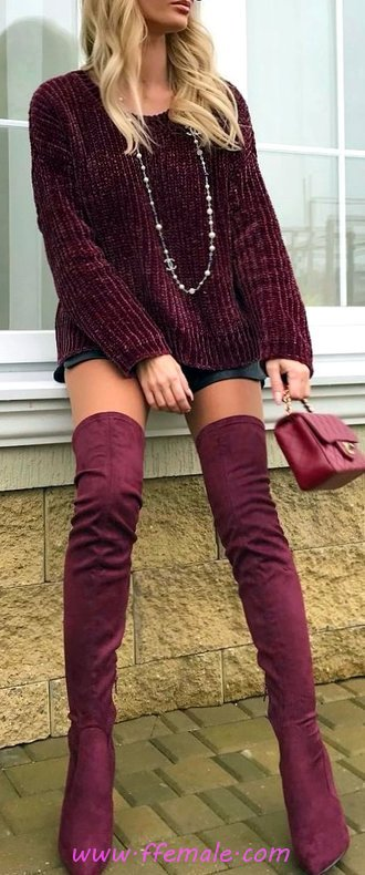 Perfect Fall Outfit Idea - fashionable, flashy, sweet, cool