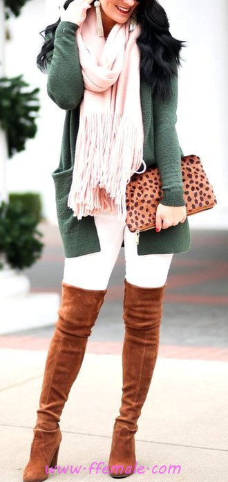 Pretty And So Beautiful Fall Outfit Idea - street, flashy, charming, elegant