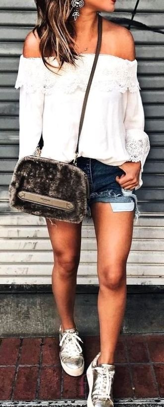 Outfit Ideas: pretty look - ideas , shorts