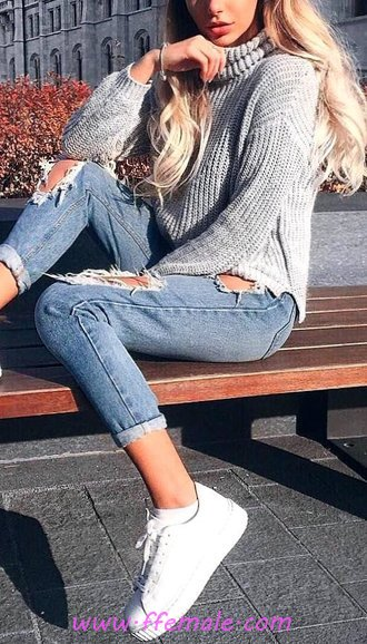 Relaxed & Attractive Fall Wardrobe - posing, female, flashy