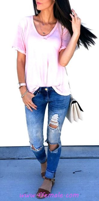 Relaxed Outfit Idea - street, modern, women, charming