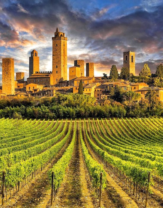 San Gimignano - trip, holiday, world, places, destinations
