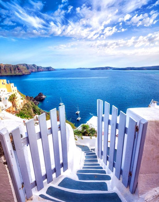 Santorini Greece - planet, destinations, visit, places, wondrous, holiday