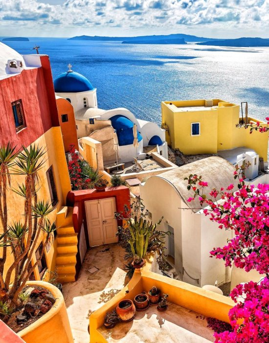 Santorini - Greece - vacation, theworld, travel, place, great