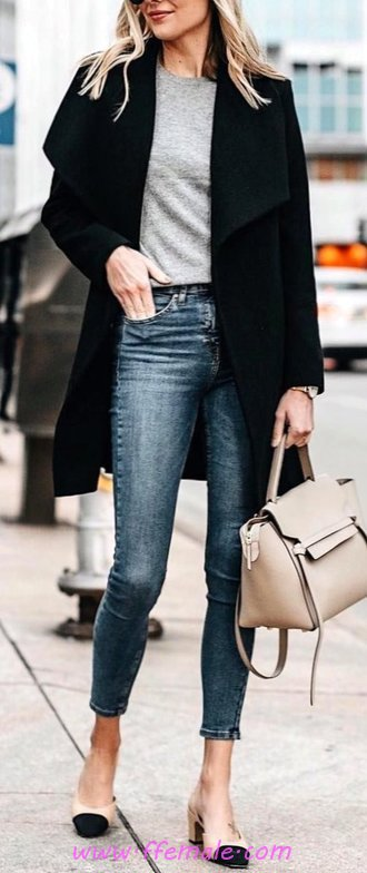 Simple And Fashionable Fall Inspiration Idea - women, charming, sweet, modern