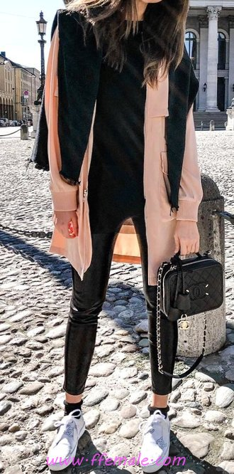 Simple And So Awesome Fall Outfit Idea - inspiration, outerwear, modern, elegance