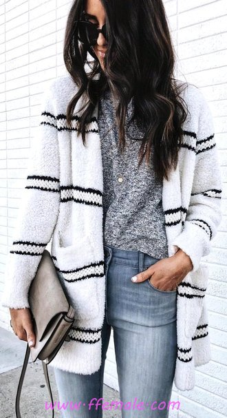 Simple & Comfortable Autumn Outfit Idea - fancy, wearing, clothing, adorable