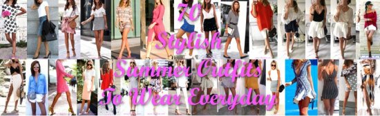 Stylish Summer Outfits To Wear Everyday - outfits