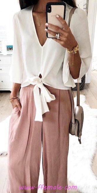 Summer Outfits My adorable and hot inspiration idea - vneck, photoshoot, posing, lifestyle, clothes, pink, handbag