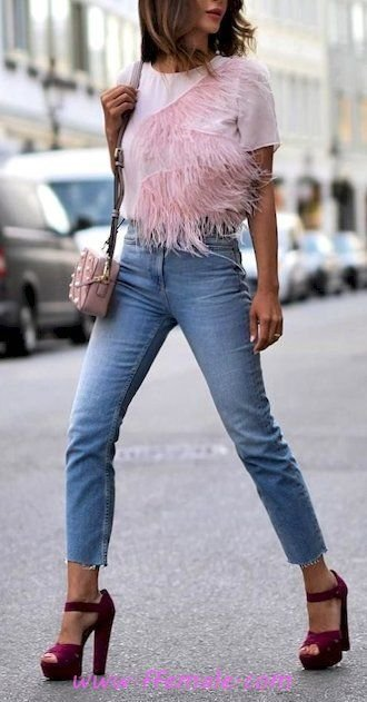 Summer Outfits Best adorable and top wardrobe - denim, posing, lifestyle, style, pink, handbag