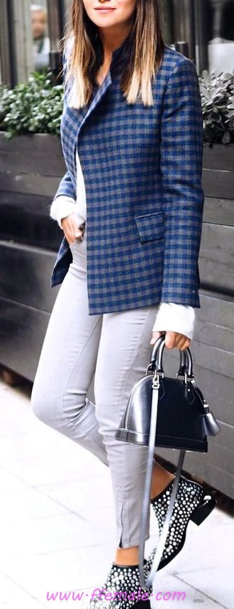 Super And Adorable Autumn Outfit Idea - women, dressy, posing, adorable