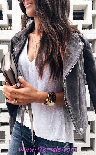 Super And Elegant Fall Outfit Idea - cute, posing, model, charming